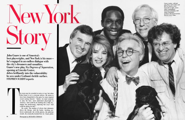 Article Preview: New York Story, July 1990 1990 | Vanity Fair