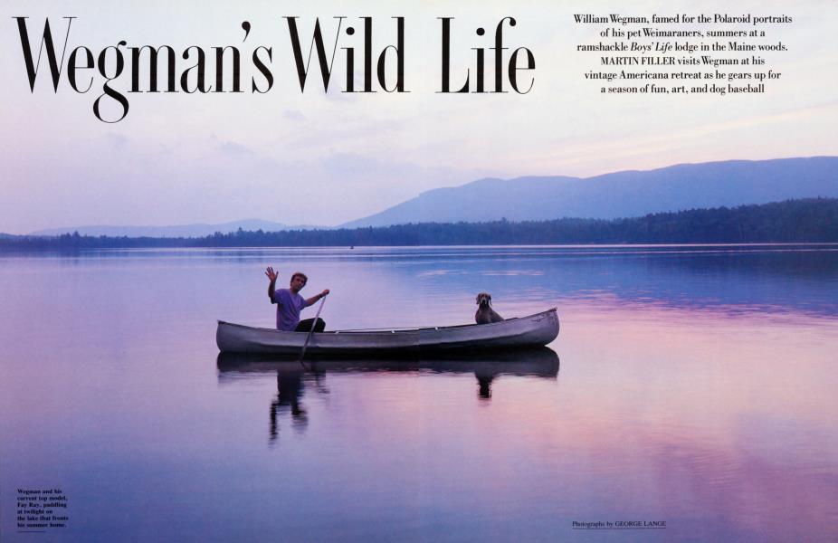 Wegman's Wild Life