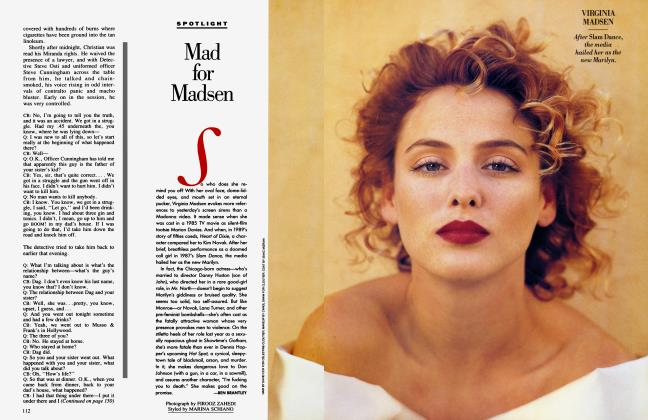 Article Preview: Mad for Madsen, August 1990 1990   Vanity Fair