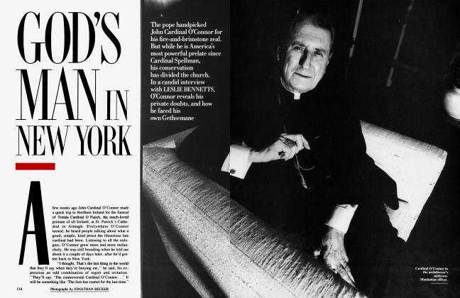 Article Preview: GOD'S MAN IN NEW YORK, August 1990 1990 | Vanity Fair