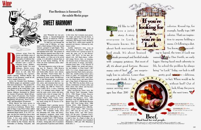 Article Preview: SWEET HARMONY, August 1990 1990 | Vanity Fair