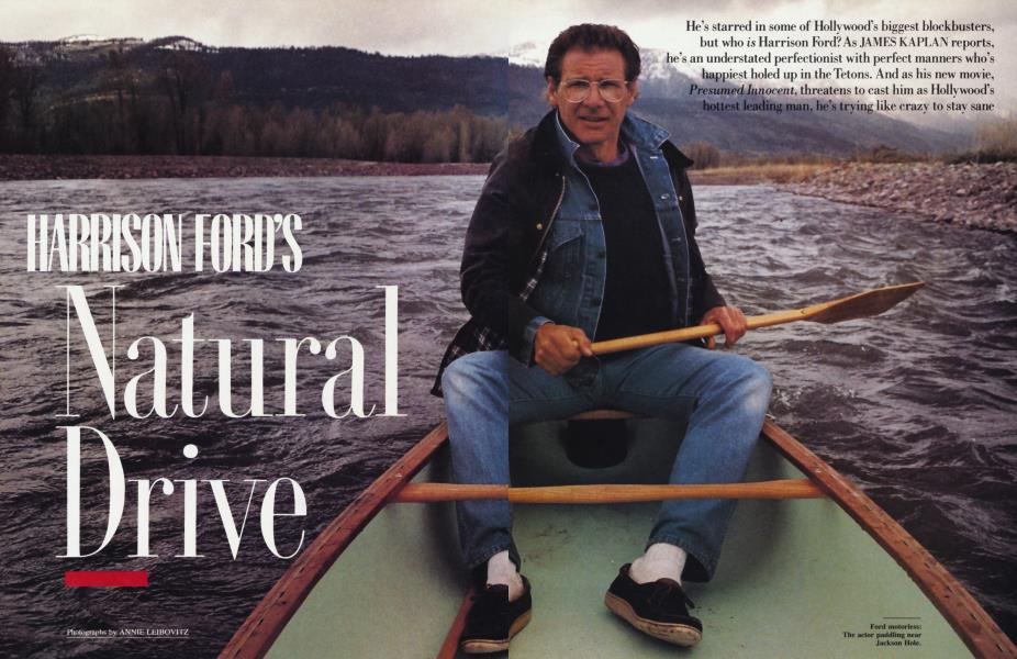 HARRISON FORD'S Natural Drive