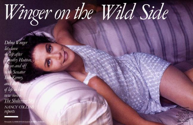 Article Preview: Winger on the Wild Side, October 1990 1990 | Vanity Fair