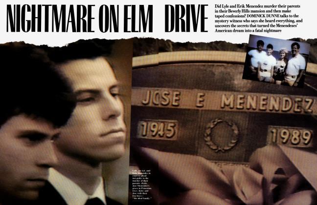 Article Preview: NIGHTMARE ON ELM DRIVE, October 1990 1990 | Vanity Fair
