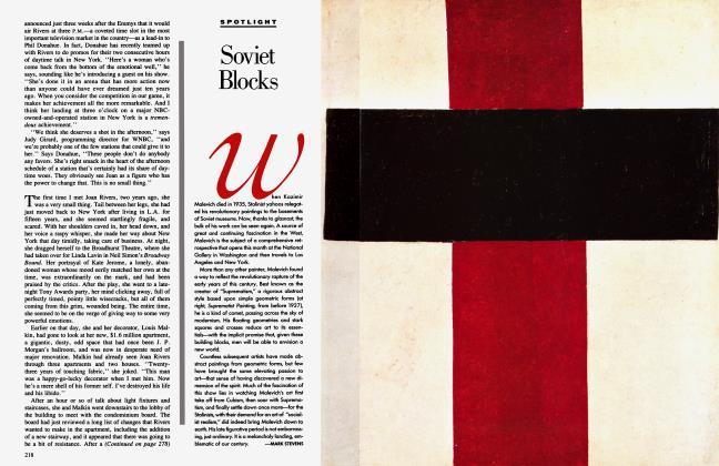Article Preview: Soviet Blocks, October 1990 1990   Vanity Fair