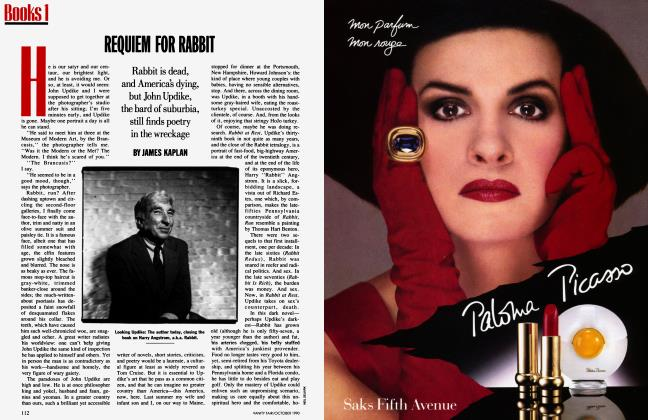 Article Preview: REQUIEM FOR RABBIT, October 1990 1990 | Vanity Fair