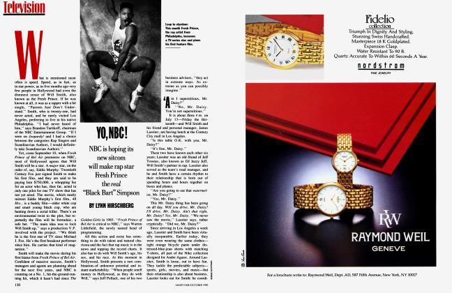Article Preview: YO, NBC!, October 1990 1990 | Vanity Fair