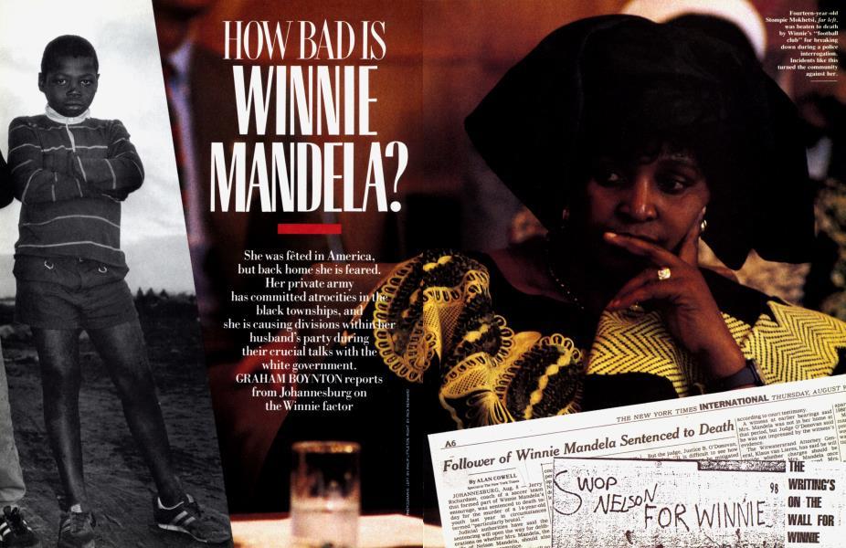 HOW BAD IS WINNIE MANDELA?