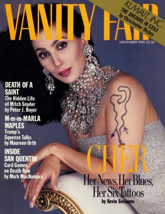 November 1990 | Vanity Fair