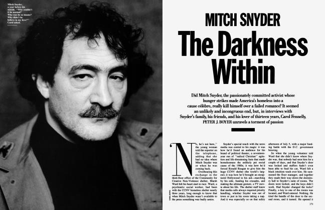 MITCH SNYDER The Darkness Within