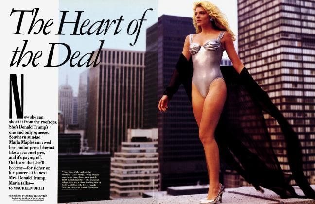 Article Preview: The Heart of the Deal, November 1990 1990 | Vanity Fair
