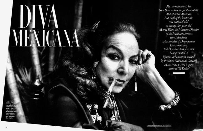 Article Preview: DIVA MEXICANA, November 1990 1990 | Vanity Fair