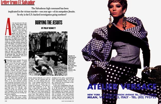 Article Preview: BURYING THE JESUITS, November 1990 | Vanity Fair