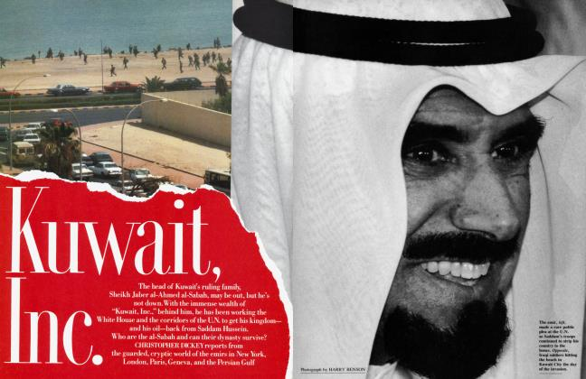 Article Preview: Kuwait, Inc., November 1990 | Vanity Fair