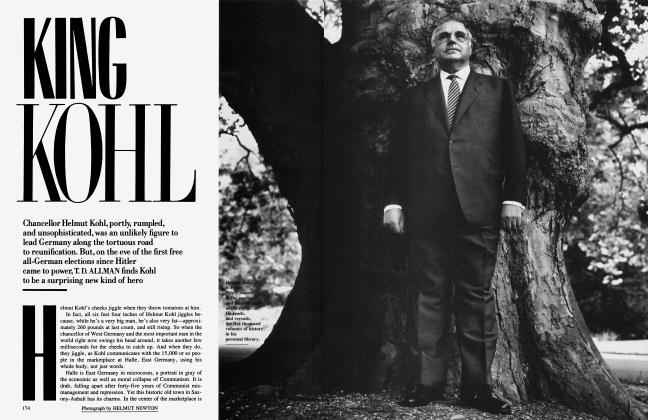 Article Preview: KING KOHL, December 1990 | Vanity Fair