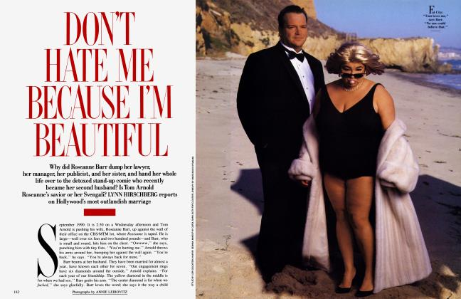Article Preview: DON'T HATE ME BECAUSE I'M BEAUTIFUL, December 1990 | Vanity Fair