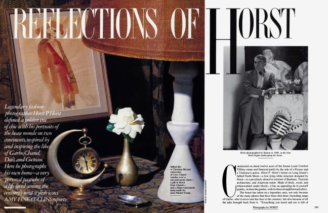 Article Preview: REFLECTIONS OF HORST, December 1990 1990 | Vanity Fair