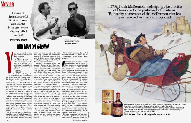 Article Preview: OUR MAN ON HAVANA, December 1990 | Vanity Fair
