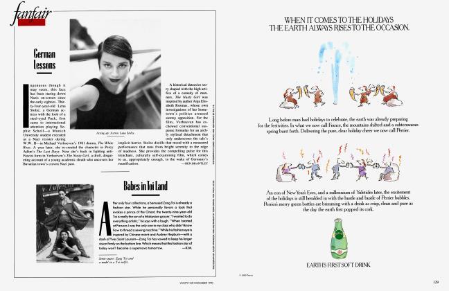 Article Preview: German Lessons, December 1990 1990   Vanity Fair