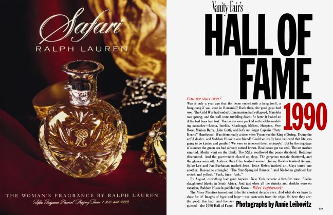 Article Preview: HALL OF FAME 1990, December 1990 1990 | Vanity Fair
