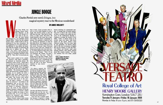Article Preview: JUNGLE BOOGIE, January 1991 1991 | Vanity Fair