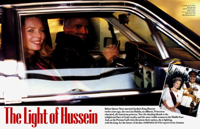 Article Preview: The Light of Hussein, January 1991 | Vanity Fair