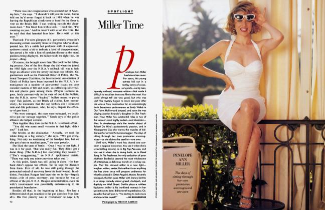 Article Preview: Miller Time, January 1991 1991 | Vanity Fair