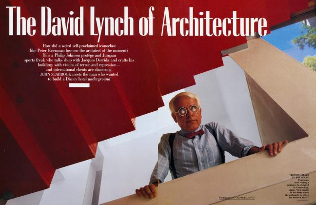 Article Preview: The David Lynch of Architecture, January 1991 | Vanity Fair