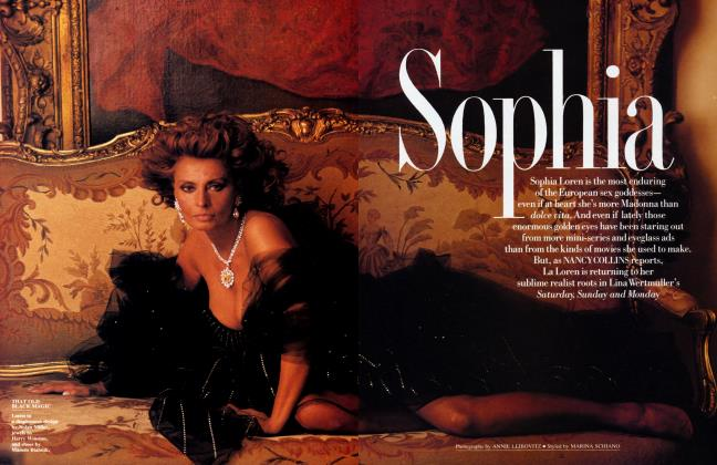 Article Preview: Sophia, January 1991 1991 | Vanity Fair