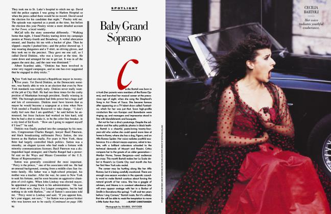 Article Preview: Baby Grand Soprano, January 1991 1991 | Vanity Fair