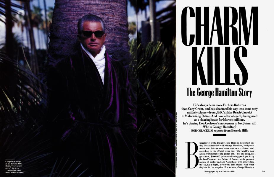 CHARM KILLS The George Hamilton Story