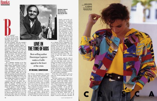 Article Preview: LOVE IN THE TIME OF AIDS, February 1991 1991 | Vanity Fair