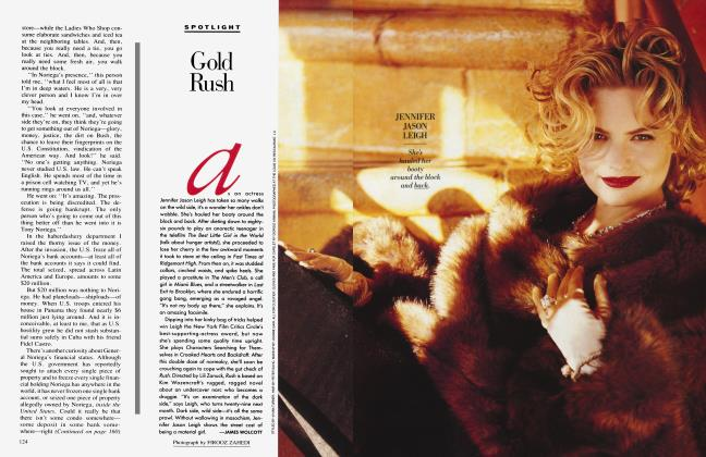 Article Preview: Gold Rush, February 1991 1991 | Vanity Fair