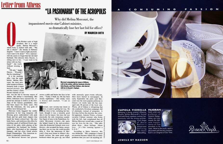 """LA PASIONARIA"" OF THE ACROPOLIS"
