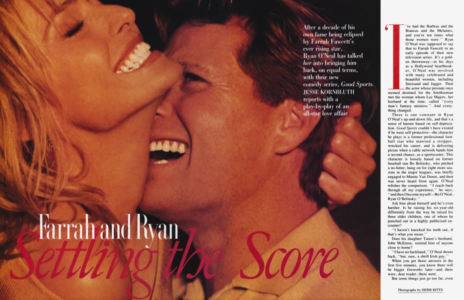 Farrah and Ryan Settling the Score