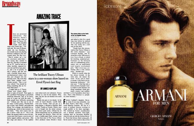 Article Preview: AMAZING TRACE, March 1991 1991 | Vanity Fair
