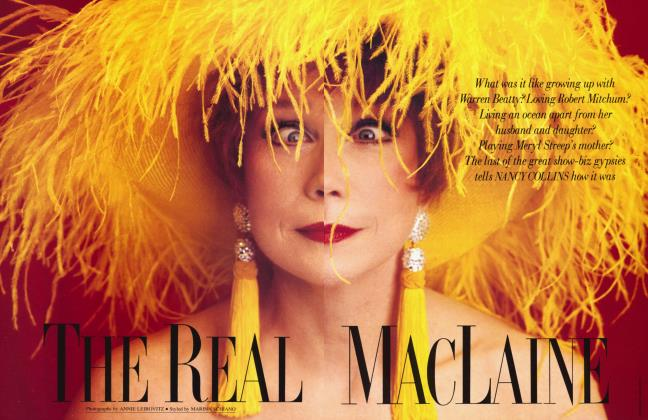 Article Preview: THE REAL MACLAINE, March 1991 1991 | Vanity Fair