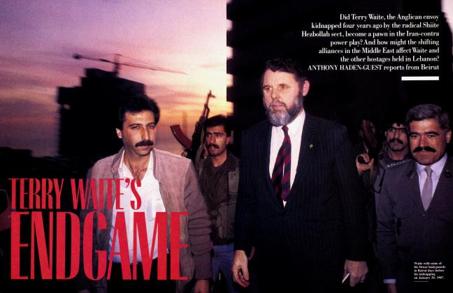 Article Preview: TERRY WAITE'S ENDGAME, March 1991 1991 | Vanity Fair