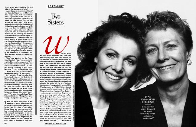 Article Preview: Two Sisters, March 1991 1991 | Vanity Fair