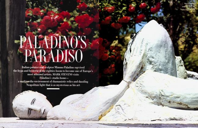 Article Preview: PALADINO'S PARADISO, March 1991 1991 | Vanity Fair