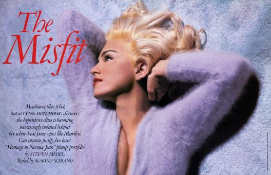The Misfit - April | Vanity Fair