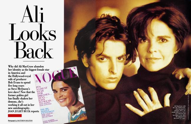 Article Preview: Ali Looks Back, April 1991 1991 | Vanity Fair