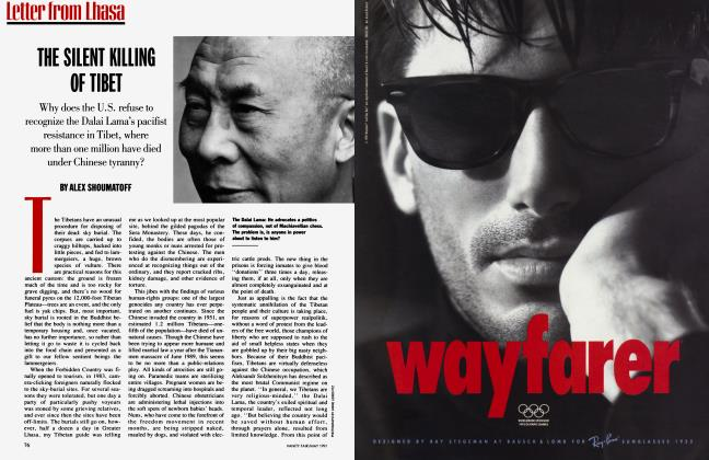 Article Preview: THE SILENT KILLING OF TIBET, May 1991 1991 | Vanity Fair