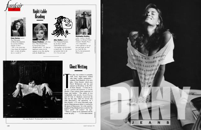 Article Preview: Ghost Writing, May 1991 1991 | Vanity Fair