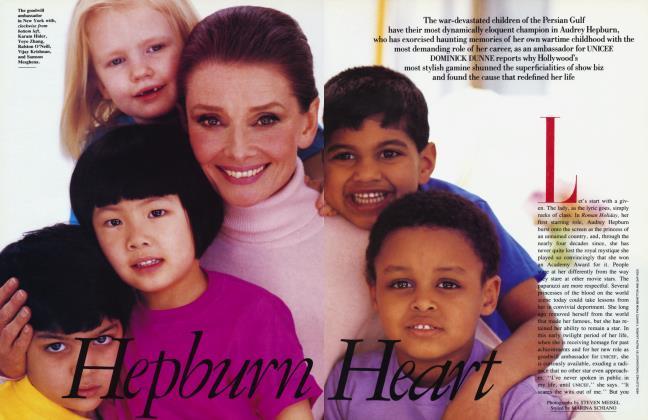 Article Preview: Hepburn Heart, May 1991 1991   Vanity Fair