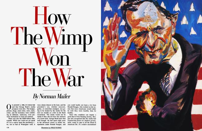 Article Preview: How The Wimp Won The War, May 1991 1991 | Vanity Fair