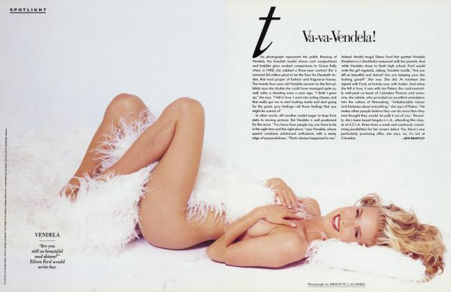 Article Preview: Va-va-Vendela!, May 1991 1991 | Vanity Fair