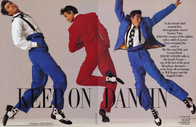 Article Preview: KEEP ON DANCIN', May 1991 1991 | Vanity Fair