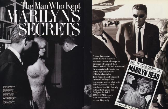 The Man Who Kept MARILYN'S SECRETS