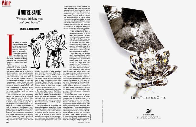 Article Preview: À VOTRE SANTÉ, May 1991 1991 | Vanity Fair